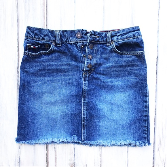 Tommy Hilfiger Dresses & Skirts - 90s Vintage Denim Mini Skirt